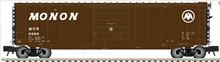Atlas O Monon 50' PS-1 single door door box car, 3 rail