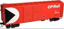 Atlas O CP Rail 1937 style 40' DD steel box car, 3 rail or 2 rail