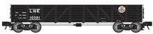 Atlas O PDT exclusive L&NE 40' Composite gondola, 3 or 2 rail