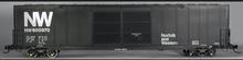 Atlas O N&W (black)  60' auto parts  box car,  3 rail or 2 rail
