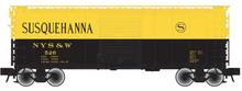 Atlas O PDT exclusive   Susquehanna  40' Steel Box car, 3 rail or 2 rail
