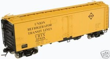 Atlas O  Erie  40'  steel reefer, 3 rail  or 2 rail