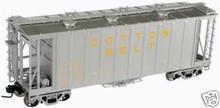 Atlas O SSW Airslide Cov Hopper, 2 rail