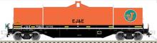Atlas O EJ&E 42' Coil Steel Car, 3 rail or 2 rail