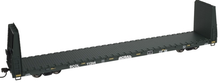 Atlas O BC Rail  62' Bulkhead Flat car, 3 rail or 2 rail