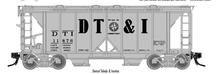 Atlas O  DT&I  34'  ACF  Covered Hopper
