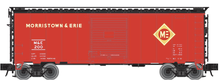 Atlas O PDT exclusive  Morristown and Erie 40' Steel Box car
