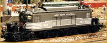 Sunset/3rd Rail brass NYC T-3  Electric (lightning stripe), 2 rail