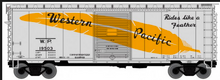 Pre-Order for PDT exclusine Atlas O WP (silver) 40' steel box  car