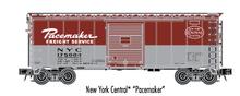 Atlas O (trainman) NYC Pacemaker 40' Steel Box car, 3 rail or 2 rail