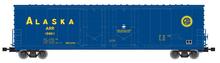 Atlas O Alaska RR 53' double plug door box car
