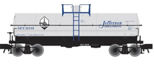Atlas O  Jefferson Chemical 11,000 gallon tank car