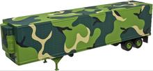 Atlas O  US Army  48' trailer with frig unit