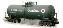 Weaver Dow of Canada 40' modern tank car, 3 rail or 2 rail