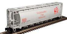 Atlas O DT&S  Cylindrical Covered Hopper, 3 rail or 2 rail