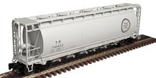 Atlas O T&P  Cylindrical Covered Hopper, 3 rail or 2 rail