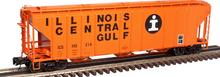 Atlas O ICG PS4427 50' Covered Hopper, 3 rail or 2 rail