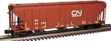 Atlas O CN/WC PS4427 50' Covered Hopper, 3 rail or 2 rail