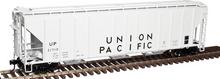 Atlas O UP  PS4427 50' Covered Hopper, 3 rail or 2 rail