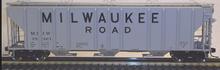 Atlas O MILW PS4427 50' Covered Hopper, 3 rail or 2 rail