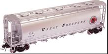 Atlas O GN   Cylindrical Covered  Hopper, 3 rail or 2 rail
