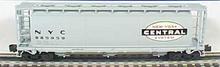 Atlas O NYC Cylindrical Covered  Hopper, 3 rail or 2 rail