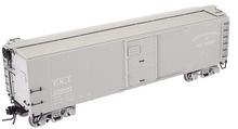 Atlas O CNJ  X-29 style  (gray)  40' box car, 3 rail or 2 rail