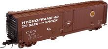 Atlas O CGW 50' plug door box car, 3 rail or 2 rail