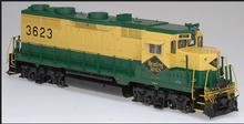 Atlas O Reading  GP-35,  3 rail, TMCC