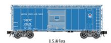Atlas O (trainman) US Air Force 40' Steel Box car, 3 rail or 2 rail