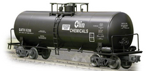 Weaver Olin Chemicals 40' tank car, 3 rail or 2 rail