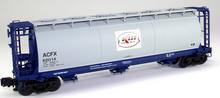 Atlas O Kerr McGee  Cylindrical Covered  Hopper, 3 rail or 2 rail