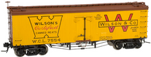 Atlas O Wilson (certified meats) 36' wood reefer,  3 rail or 2 rail