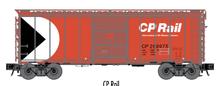 Atlas O (trainman) CP rail 40' Steel Box car, 3 rail or 2 rail