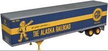 Atlas O  Alaska RR  48' trailer
