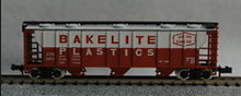 Atlas O Union Carbide/Bakelite 40' 3 Bay PS-2 Covered Hopper
