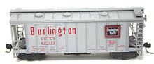 Atlas O Burlington (CB&Q)  Airslide Covered  Hopper, 3 rail or 2 rail