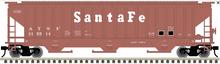 Atlas O (trainman) Santa Fe (tuscan)  PS4750 Covered Hopper car