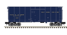 Atlas O B&O (Blue)  40' wagon top box  car