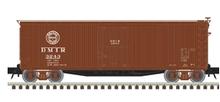 Atlas O DMIR 40' double sheathed wood box  car