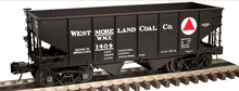 Atlas O Westmoreland Coal USRA 2 bay hopper car