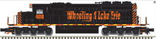 Pre-order for Atlas O  W&LE SD-40, non-powered, 3 rail or 2 rail
