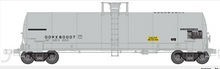 Atlas O DOWX (Dow Chemical)  17,360 gallon  tank car, 3 rail or 2 rail