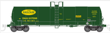 Atlas O Dana Railcare  17,360 gallon  tank car, 3 rail or 2 rail