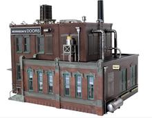Woodland Scenics O gauge Morrison Door Factory..super detailed