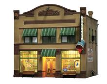 Woodland Scenics O gauge Dugan's Paint Store..super detailed building