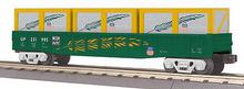 MTH Railking WP gondola with crates, 3 rail