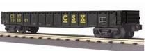MTH Railking CSX diecast Gondola, 3 rail