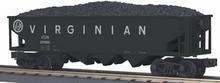 MTH Railking Virginian 4 bay  hopper car, 3 rail