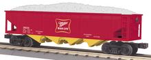 MTH Railking Miller Beer 4 bay  hopper car, 3 rail